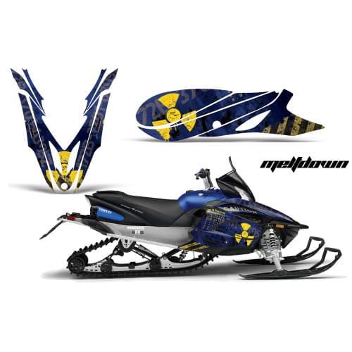 Комплект графики AMR Racing Meltdown (Yamaha Apex)