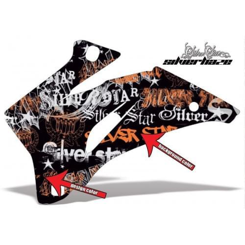 Комплект графики AMR Racing Silverhaze (ОUTLANDER MAX G1)