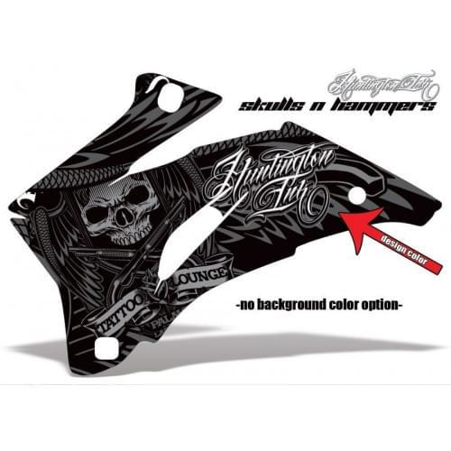 Комплект графики AMR Skulls n Hammers (ОUTLANDER MAX G1)