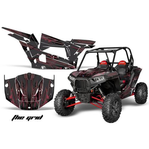 Комплект графики AMR Racing The Grid (RZR1000XP)