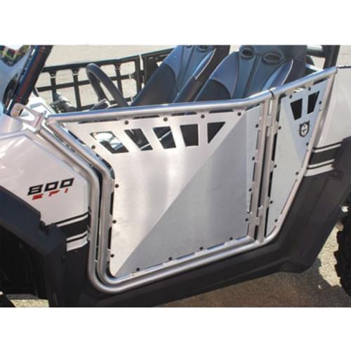 Двери ProArmor для Polaris RZR (серебристые)