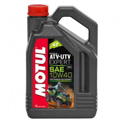 Моторное масло полусинтетическое Motul ATV-UTV Expert 10W40 4T 4 Литра