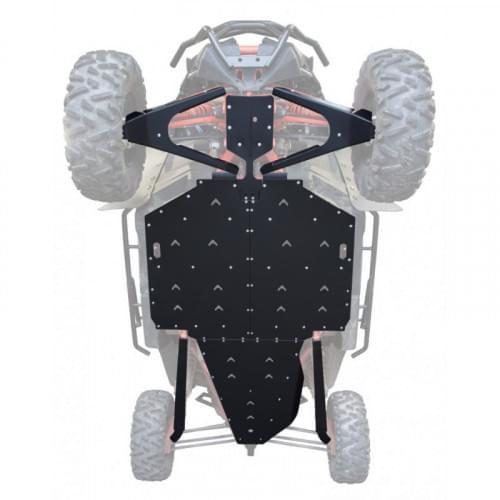 Пластиковая защита днища XRW для Can Am Maverick X3 XRS